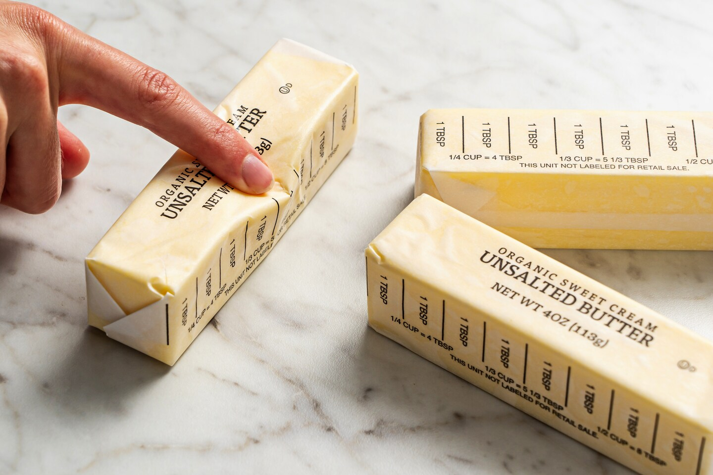 How to quickly soften butter for baking