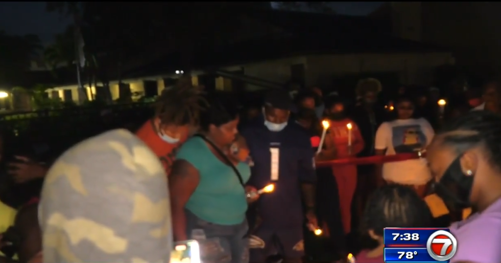 Memorial to victims of the fiery crash in North Miami - WSVN 7News   Miami News, Weather, Sports
